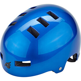bluegrass Super Bold Dirt-Helm blue metallic glossy